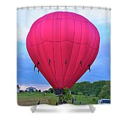 Big Pink  Shower Curtain