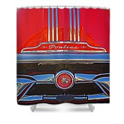 Big Red Pontiac Shower Curtain
