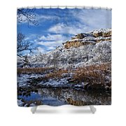 Big Springs Shower Curtain