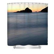 Big Sur Silk Shower Curtain