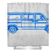 Big Van Shower Curtain by Naxart Studio