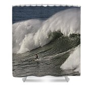 Big Wave II Shower Curtain