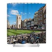 Bikes Cambridge Shower Curtain