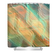 Billows Shower Curtain