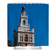 Biltmore Hotel Tower And Moon Shower Curtain