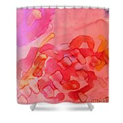 Biology Of Joy Shower Curtain by Rory Sagner