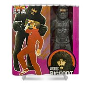 Bionic Bigfoot Shower Curtain
