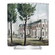 Birch: Philadelphia, 1800 Shower Curtain