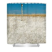 Bird House Shower Curtain