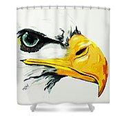 Bird Of Prey  Eagle Shower Curtain