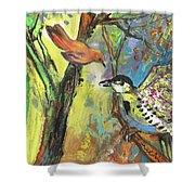 Birds 03 Shower Curtain