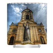 Birmingham Cathedral 1.0 Shower Curtain