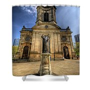 Birmingham Cathedral 2.0 Shower Curtain