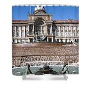 Birmingham Council Building Shower Curtain