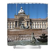 Birmingham Landmark Shower Curtain