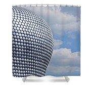 Birmingham Modern Building Shower Curtain