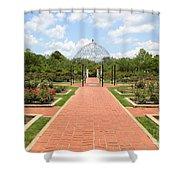 Birmingham Rose Garden Shower Curtain