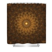 Birthing Mandala 19 Shower Curtain