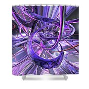 Birthplace Of Abstract  Shower Curtain