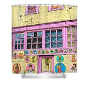 Colorful Building Bisbee Az Shower Curtain