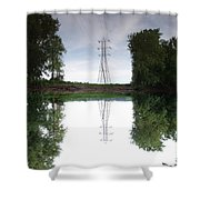 Black River Dadville Ny Shower Curtain
