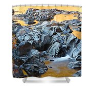 Black River Reflections At Johnsons Shut Ins State Park Vi Shower Curtain
