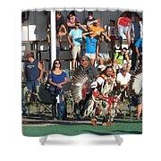 Blackfeet Pow Wow 01 Shower Curtain
