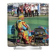 Blackfeet Pow Wow 02 Shower Curtain