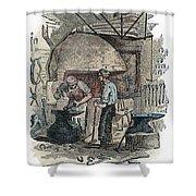 Blacksmith, C1865 Shower Curtain