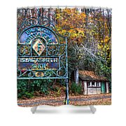 Blacksmith Shop Shower Curtain by Debra and Dave Vanderlaan