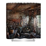 Blacksmith - That's A Lot Of Hoopla Shower Curtain