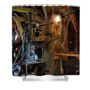 Blacksmith Workshop Shower Curtain