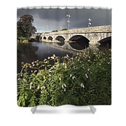 Blackwater River In Munster Region Shower Curtain