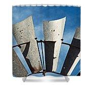 Blades Shower Curtain