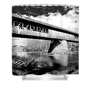 Blair Bridge Shower Curtain