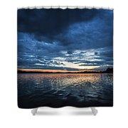 Blanket Of Blue Shower Curtain