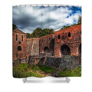 Blast Furnaces Shower Curtain