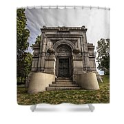 Blatz Family Mausoleum Shower Curtain