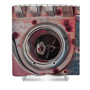 Bleed The Metal  Shower Curtain