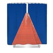 Bleeding Purity Shower Curtain