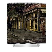 Bleeker Street Seven Am Shower Curtain