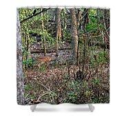 Blending Deer Shower Curtain