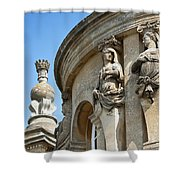 Blenheim Palace Detail Shower Curtain