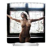 Blessing Light Shower Curtain