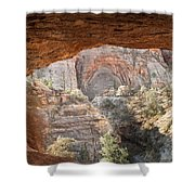 Blind Arch Overlook Shower Curtain