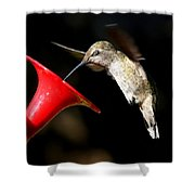 Blink And You'll Miss It Shower Curtain