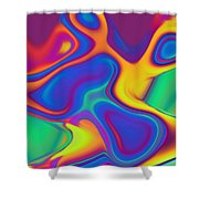 Blob Shower Curtain