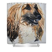 Blonde Shower Curtain by Susan Herber