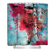 Blood And Stones  Shower Curtain