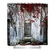 Blood Ivy Shower Curtain